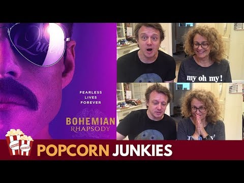 Bohemian Rhapsody Official Trailer - Nadia Sawalha Reaction & Review