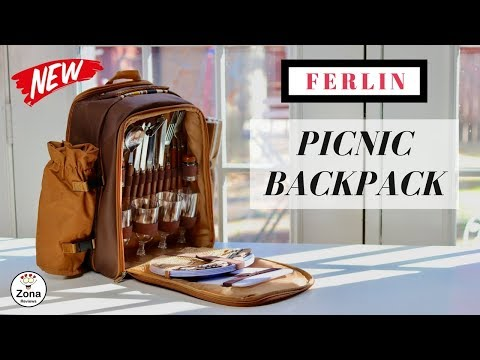 😍 FERLIN ❤️ Picnic Backpack - Review ✅