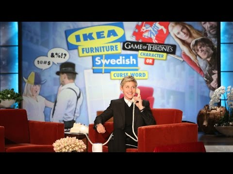 ikea - Ellen played a fun new game with an unsuspecting contestant. Find out how he did!