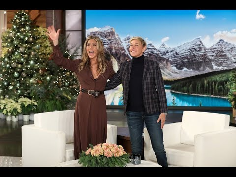 Ellen Wants to Throw an On-Air 50th Birthday Party for Jennifer Aniston