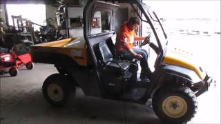 8. 2006 Cub Cadet 4X4 Trail utility vehicle for sale | sold at auction November 12, 2014