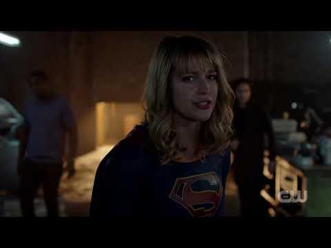 Supergirl Season 5 - Supergirl and J'onn vs Midnight First Battle