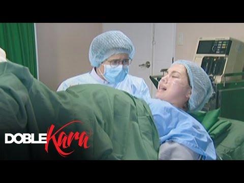 Kara gives birth   Doble Kara