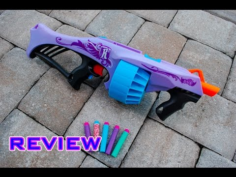 [REVIEW] Nerf Rebelle Fearless Fire Unboxing, Review, & Firing Test