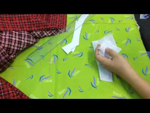 Hướng dẫn cắt may áo dài bé trai 2016