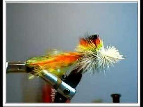 Tying a deer hair bass bug-tying the body part II