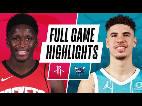 Video: ROCKETS at HORNETS | FULL GAME HIGHLIGHTS | February 8, 2021