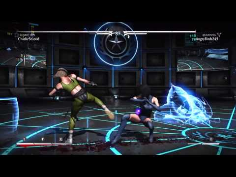 Mortal Kombat X : Kitana Mournful Online Ranked - #5 (видео)