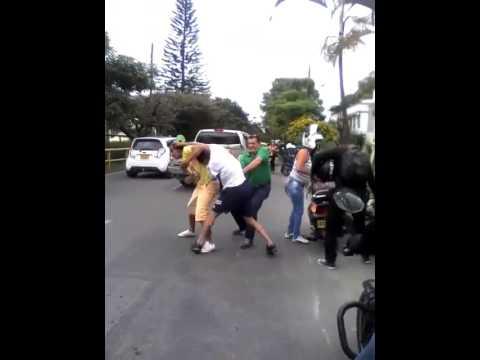 Comunidad intenta linchar a ladrón de la Guabinal