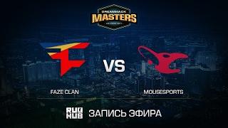 FaZe Clan vs mousesports - DH Las Vegas - de_mirage [yxo, Enkanis]