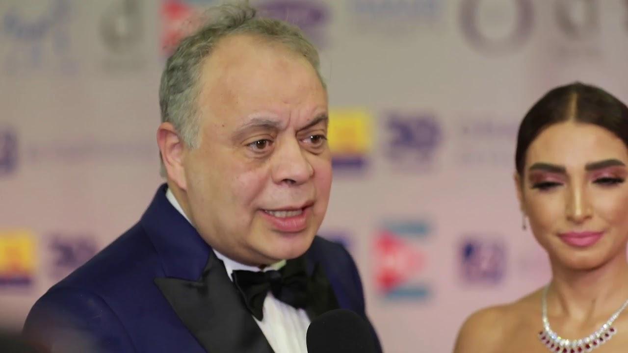 عين - الفنان اشرف زكي وروجينا من مهرجان الجونة : المهرجان ده نجاح للسينما المصرية