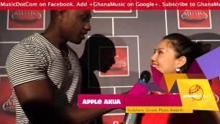 Apple Akua - Sings Kwabena Kwabena's 'Obi Do Wo A Do Ni Bi' @ VGMA '14 launch | GhanaMusic.com Video