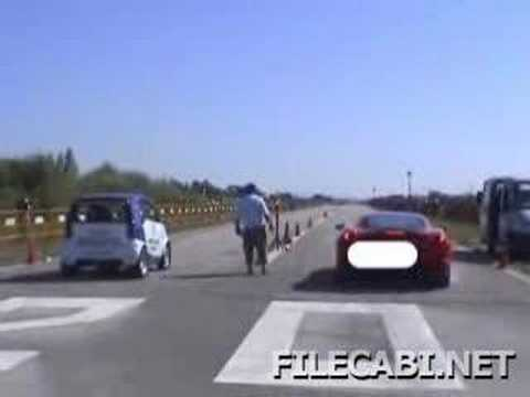Ferrari vs. Smart Car