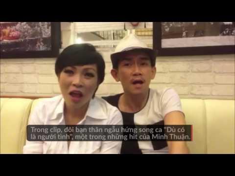 Phương Thanh chia sẻ clip ngẫu hứng song ca cùng Minh Thuận - Thời lượng: 47 giây.