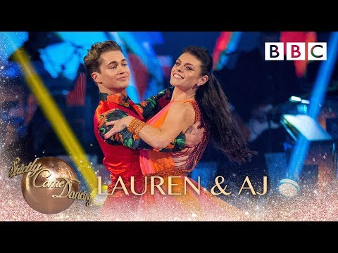 Lauren Steadman and AJ Pritchard Quickstep to 'If You're Over Me' - BBC Strictly 2018