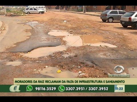 Em Manaus, moradores da Raiz reclamam da falta de infraestrutura no Bairro