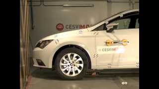 Crash test delantero Seat León