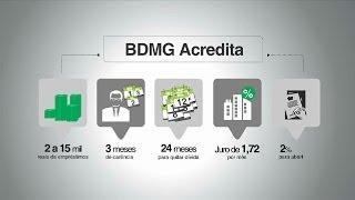 VÍDEO: Parceria entre o BDMG e o BID vai apoiar novos microempresários com ferramenta inovadora