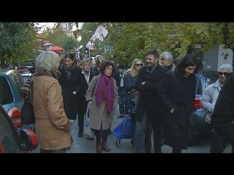 Πορεία διαμαρτυρίας κατοίκων των Εξαρχείων