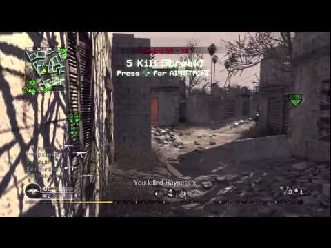 """CoD4 70 kill MP5 Gameplay : """"What's your all time favorite weapon in Call of Duty?"""""""