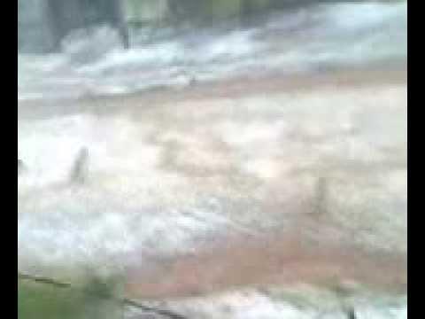 chuva de granizo em pinhao