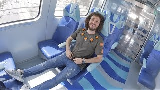 Así es el TRANSPORTE PÚBLICO VIP de Dubai!