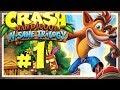 CRASH BANDICOOT N. SANE TRILOGY # 01 🍎 Crash Bandicoot in High Definition! [HD60]