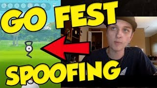 POKEMON GO FEST SPOOFING! It Can't Get Any Worse... by Verlisify