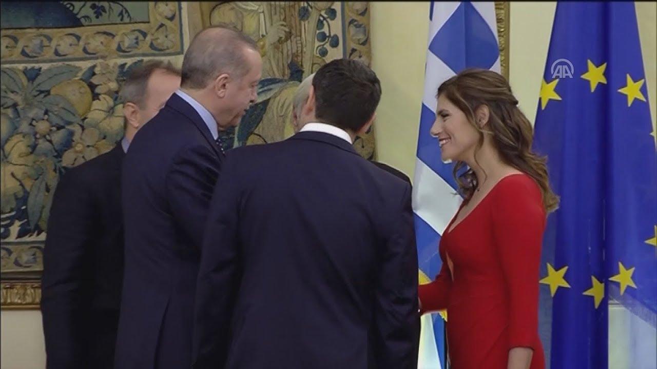 Πλάνα από το επίσημο δείπνο προς τιμήν του Τούρκου Προέδρου