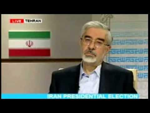 Iran Presidential debate - Mousavi - Ahmadinejad (видео)