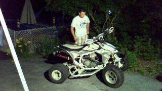 5. 2004 Honda TRX450r quick ride