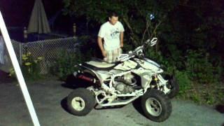 9. 2004 Honda TRX450r quick ride