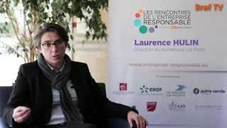Rencontres RSE: Laurence Hulin, La Poste