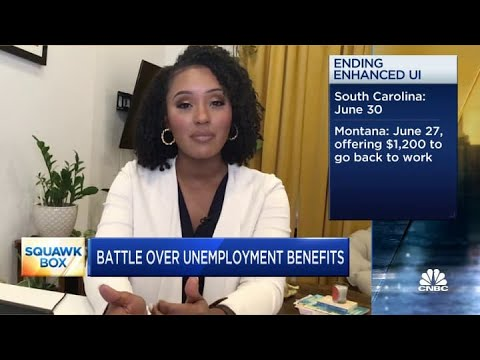 Surprising April jobs report leads to debate over unemployment benefits