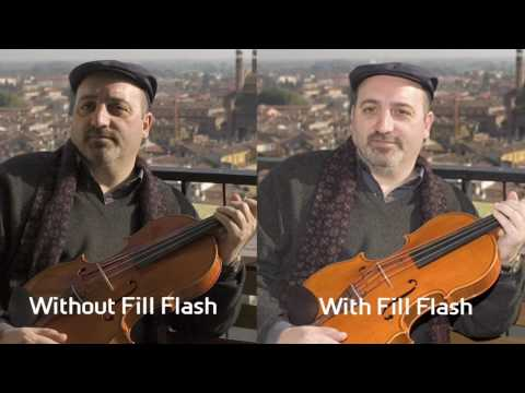 Canon EOS - Chris Bray Creative Tutorial: Speedlites vs Built in Flash