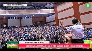 14 Congreso de la Coordinadora de las 6 federaciones del Tropico de Cochabamba