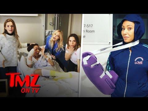 Mel B Hospitalized After Severing Her Hand | TMZ TV