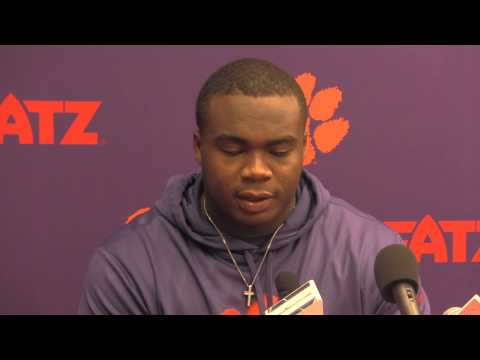 Grady Jarrett Interview 11/25/2013 video.