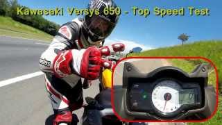 3. Versys 650 - 220Km/h & Knee Down