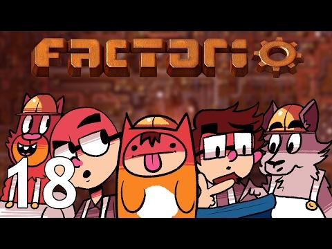 Factorio  - Season Two  - Episode 18 [Tech Support] (видео)