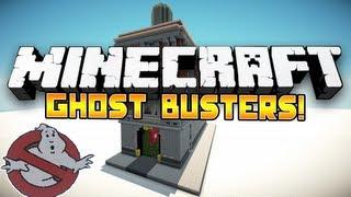 Minecraft Mini-Game: Ghost Busters! #2: w/Husky, Ssundee, Nooch, Woofless&Vikkstar!