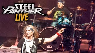 "Hot For Teacher ""LIVE"" w Steel Panther Image"