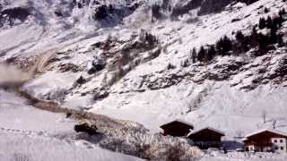 Absolutely Frightening Avalanche In Italy