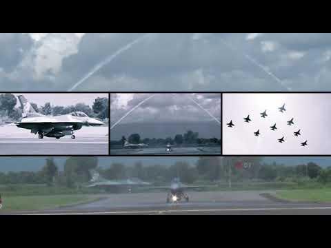 24 Pesawat Tempur F-16 Diserah Terimakan dari AS ke Indonesia