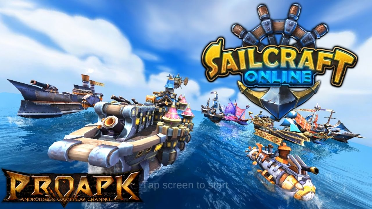 SailCraft-BattleShips in 3D