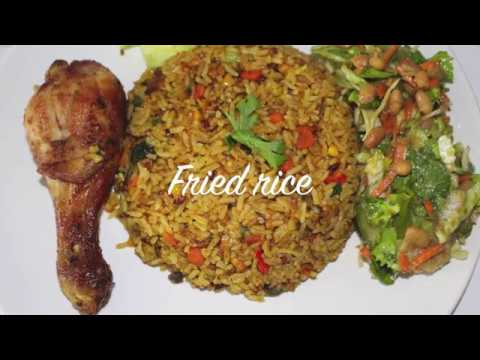 Ghana Fried Rice - Cooking With Akos