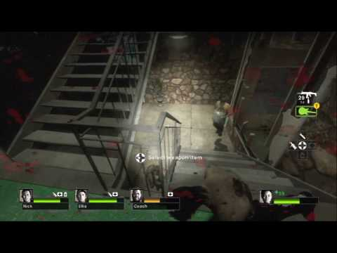 Left 4 Dead 2: gameplay attacchi melee chitarra PAX 09 HD