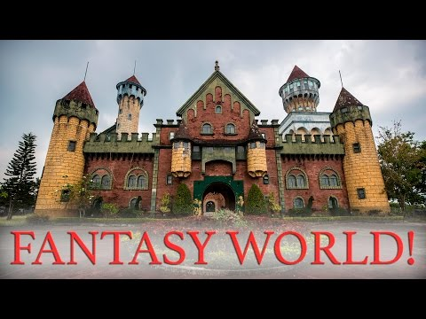 ABANDONED DISNEY WORLD OF THE PHILIPPINES - FANTASY WORLD!