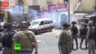 Clashes between Palestinians and Israeli police have erupted in Jerusalem. It is the latest in a series of unrest prompted by Israel's decision to place metal ...