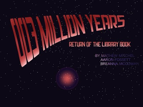 BC Game Jam 2018 Timelapse: 3 Million Million Years 2: Return of the Library Book